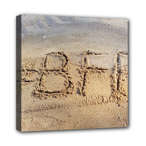 #BFF Mini Canvas 8  x 8  (Framed)