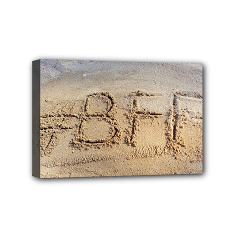 #BFF Mini Canvas 6  x 4  (Framed)