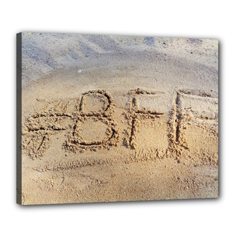 #BFF Canvas 20  x 16  (Framed)