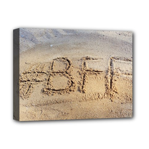 #BFF Deluxe Canvas 16  x 12  (Framed)