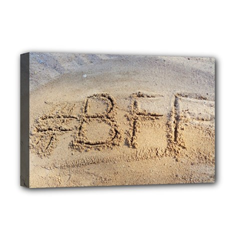 #BFF Deluxe Canvas 18  x 12  (Framed)