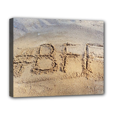 #BFF Deluxe Canvas 20  x 16  (Framed)