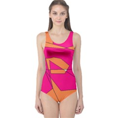 Red Orange 5000 Women s One Piece Swimsuit