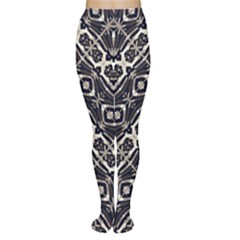 Retro Decorative Pattern Tights