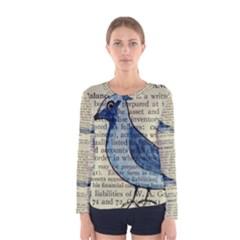 Bird Women s Long Sleeve T Shirt