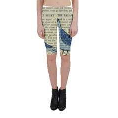 Bird Cropped Leggings