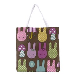 Bunny  Grocery Tote Bag
