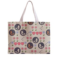 Love Birds Tiny Tote Bag