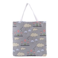 Garden in the Sky Grocery Tote Bag
