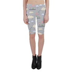 Garden In The Sky Cropped Leggings