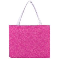 Abstract Stars In Hot Pink Tiny Tote Bag