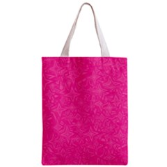 Abstract Stars In Hot Pink Classic Tote Bag