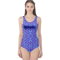 Modern Ornate Print  Women s One Piece Swimsuit