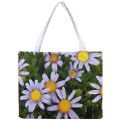 Yellow White Daisy Flowers Tiny Tote Bag