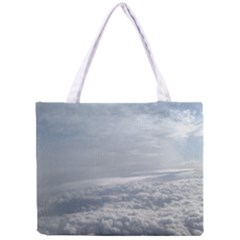 Sky Plane View Tiny Tote Bag