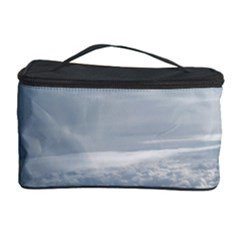 Sky Plane View Cosmetic Storage Case