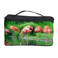 Flamingo Birds at lake Cosmetic Storage Case