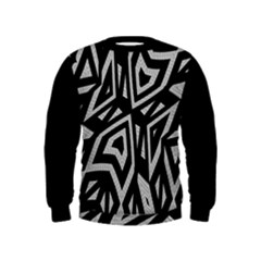 Geometric Tribal Print Kid s Sweatshirt