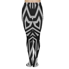 Geometric Tribal Print Tights