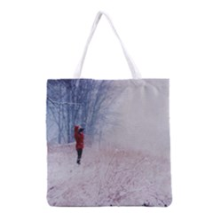 Untitled1 Grocery Tote Bag