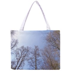 Large Trees In Sky Tiny Tote Bag