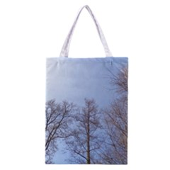 Large Trees In Sky Classic Tote Bag