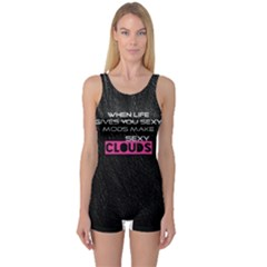 When Life Gives You Sexy Mods  Women s Boyleg One Piece Swimsuit