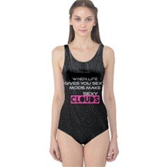 When Life Gives You Sexy Mods  Women s One Piece Swimsuit