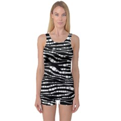 Animal Print  Women s Boyleg One Piece Swimsuit