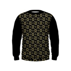 Angels Skull Pattern Kid s Sweatshirt