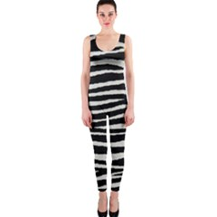Black White Tiger  OnePiece Catsuit