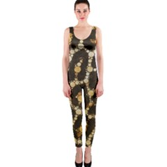 Cheetah Abstract  Onepiece Catsuit