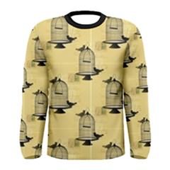 Victorian Birdcage Men s Long Sleeve T Shirt