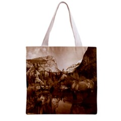 Native American Grocery Tote Bag
