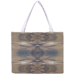 Wildlife Wild Animal Skin Art Brown Black Tiny Tote Bag