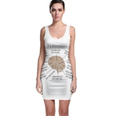 Atlas Of A Podiatrist s Brain Bodycon Dress