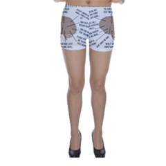 Atlas Of A Podiatrist s Brain Skinny Shorts