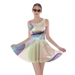 Abstract Skater Dress