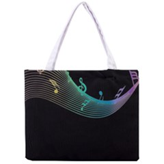 Musical Wave Tiny Tote Bag