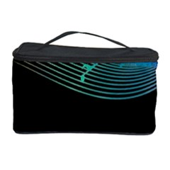Musical Wave Cosmetic Storage Case