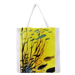 Yellow Dream Grocery Tote Bag
