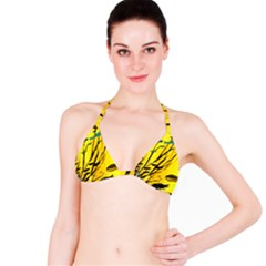 Yellow Dream Bikini Top