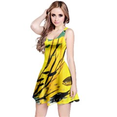 Yellow Dream Reversible Sleeveless Dress