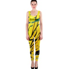 Yellow Dream OnePiece Catsuit