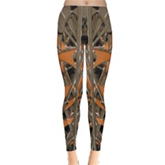 Intricate Abstract Print Leggings