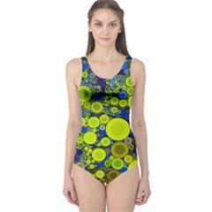 Polka Dot Retro Pattern Women s One Piece Swimsuit