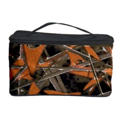 Intricate Abstract Print Cosmetic Storage Case