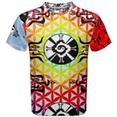 Shamanatrix Galactic Flower, Mens T Shirt