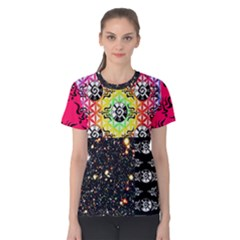 Shamanatrix Galactic Gardenia *women s Cotton T Shirt