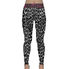 Black&White Leopard print  Yoga Leggings